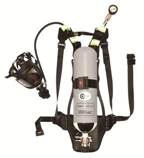 Autonominis kvėpavimo aparatas, 6 litrų.
